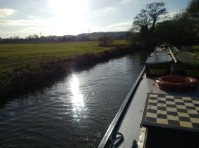 Sun on the cut