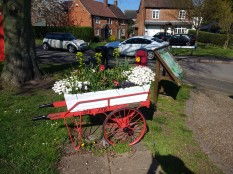 Village Post Cart 1910