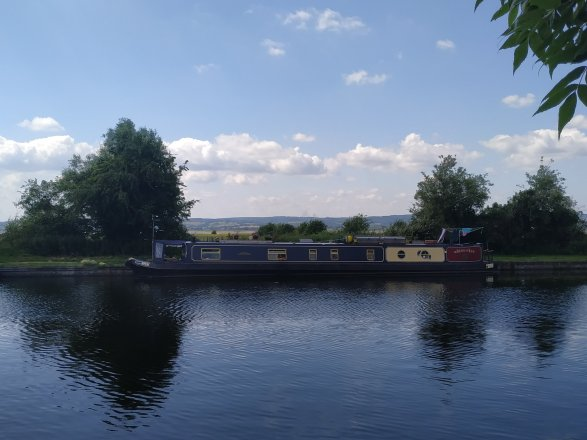Our mooring for the last few days