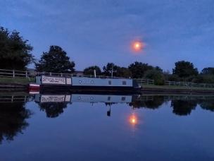 Moon at Splatt Bridge
