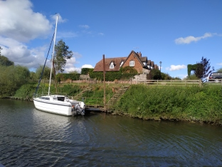 House with mooring