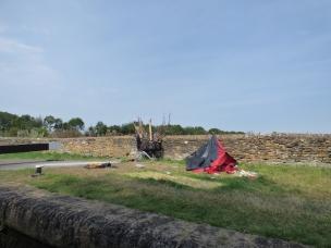 Abandoned Camping Equipment