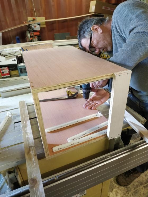 A Craftsman at work