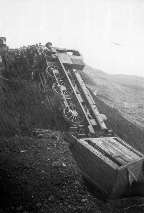 Slag Heap Accident 1900s